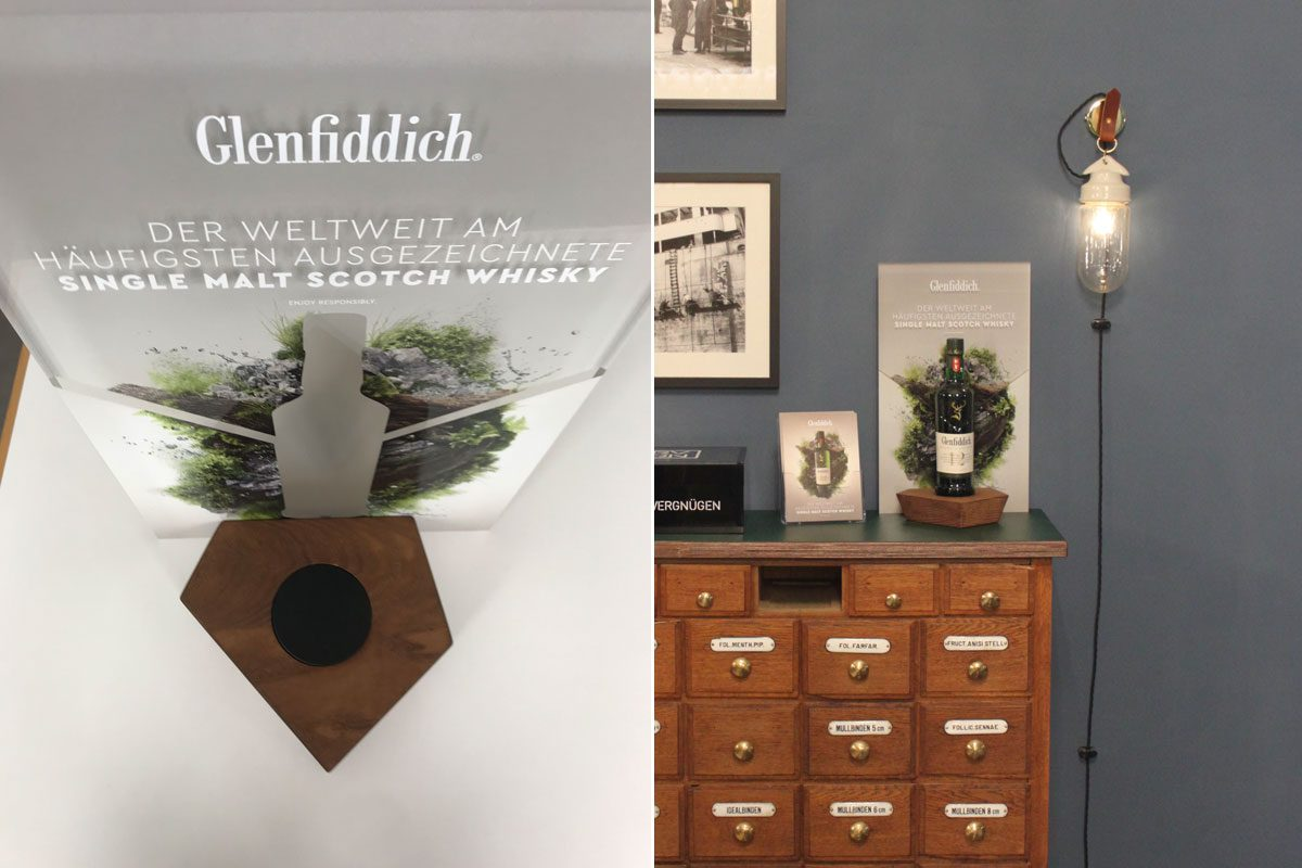 Glenfiddich, display stand, 2019