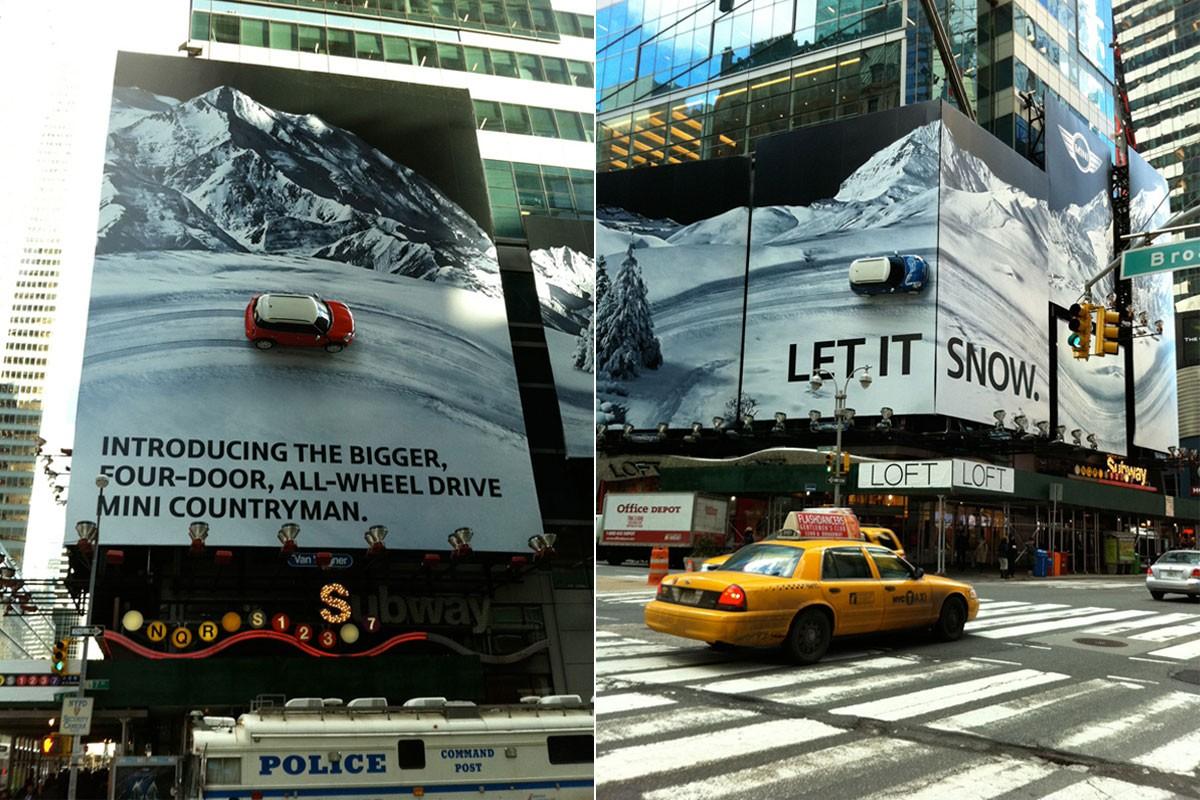 MINI R60, Times Square, NewYork