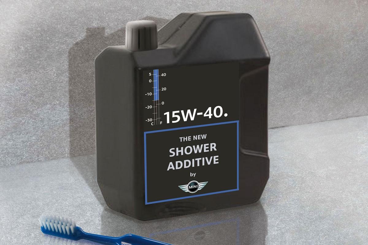 MINI Shower additive concept