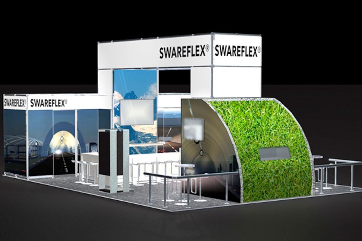 Swareflex Intertraffic Amsterdam CAD draft