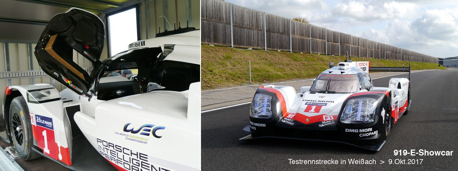 Electric Showcar LMP1 - 919 Porsche 2017