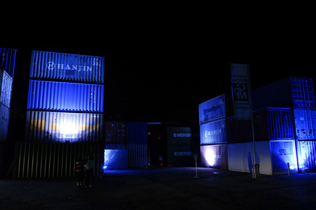 Schuler Pressen, Container Illumination