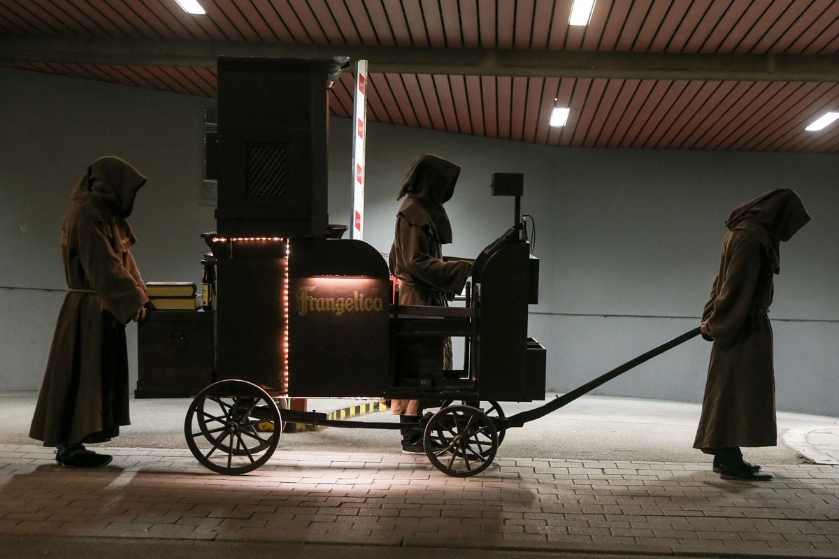 Frangelico, Stake Body Truck<br /> photo©by Stephan Sparakowski<br /> operating agency: Die Favoriten, Munich