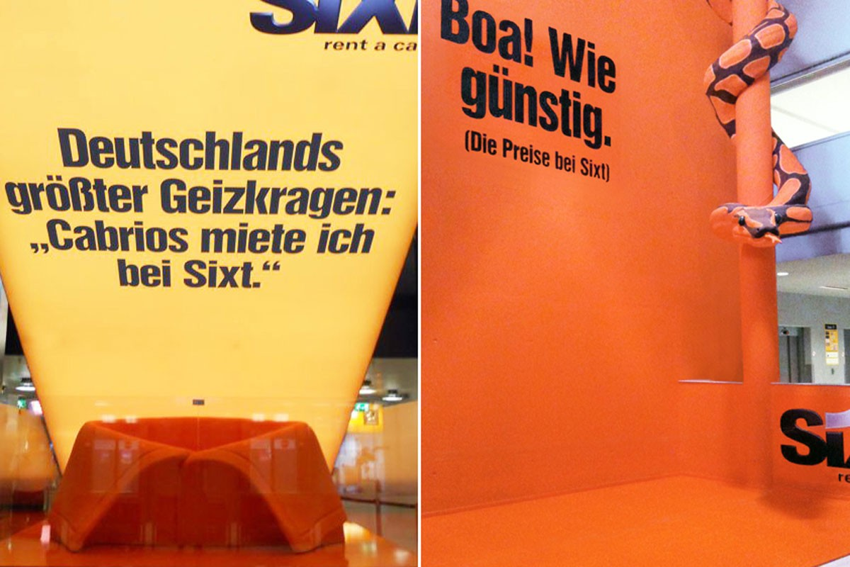 Sixt, Airport Hannover and Vienna