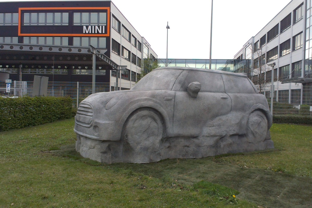 Stone-MINI, MINI Head Office Munich