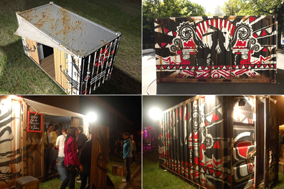 Container Design, Concerts across Germany