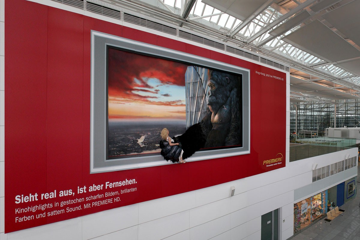 Premiere, Billboard, Airport Munich