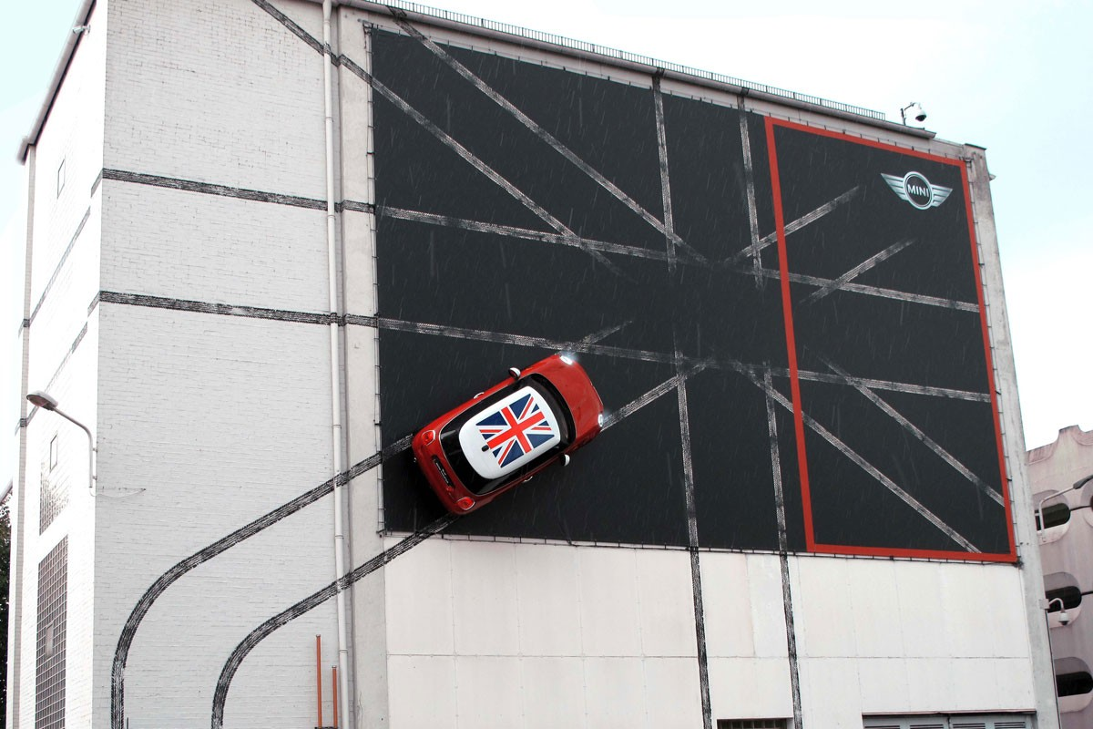 MINI Billboard, Munich