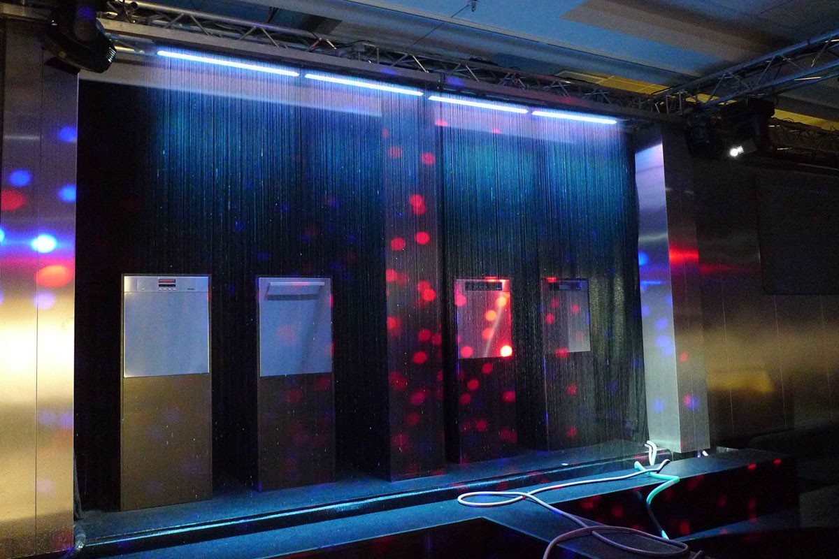 MIELE - Event, test stage