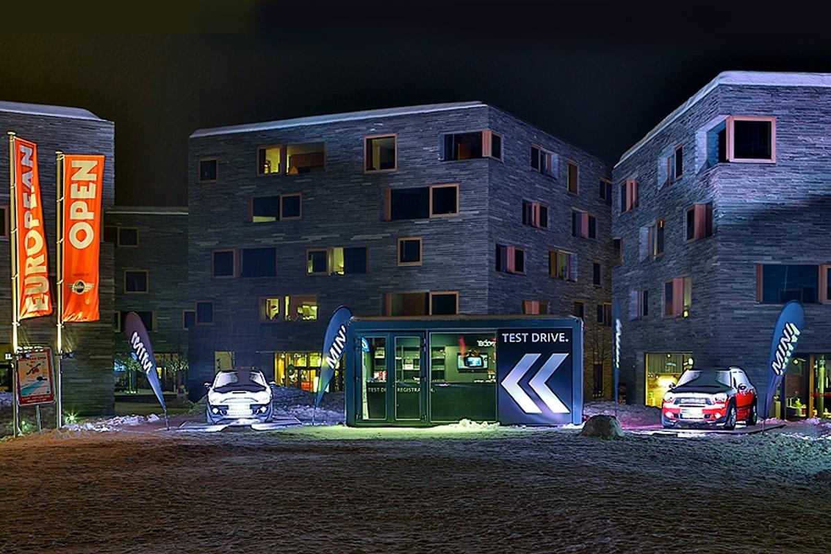 MINI, Burton European Open, Laax Switzerland