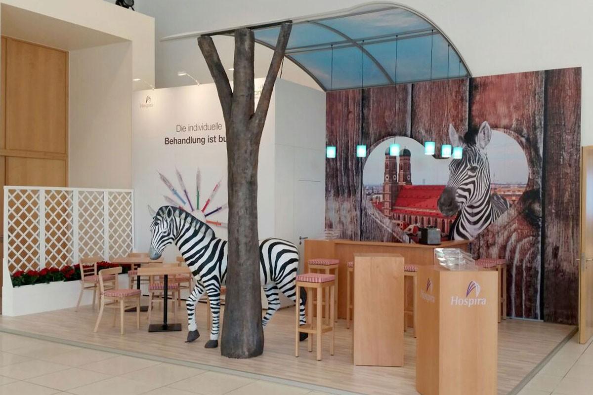 Hospira DGfN Berlin 2015 booth