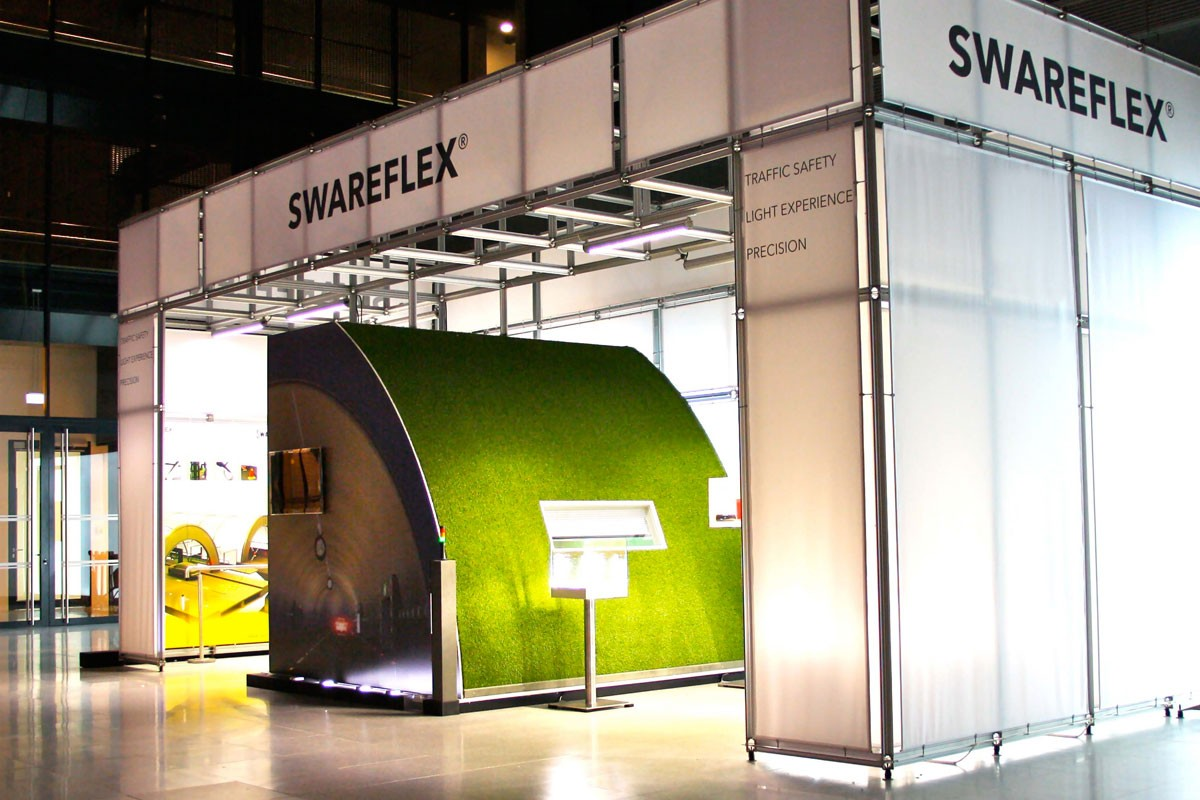 Swareflex Intertraffic Amsterdam booth