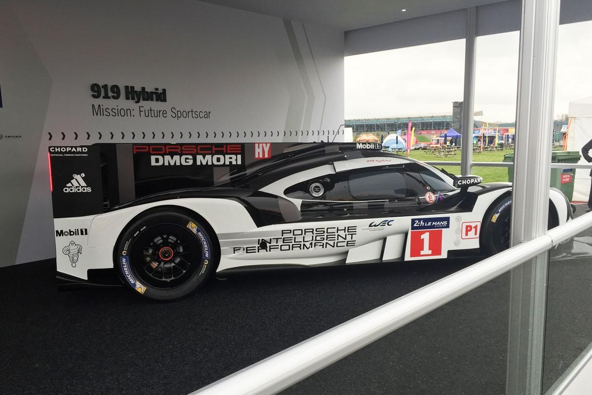 Porsche LMP1- MockUp, Silverstone 2016