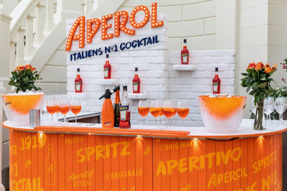 Aperol, Bar-Theke 2018