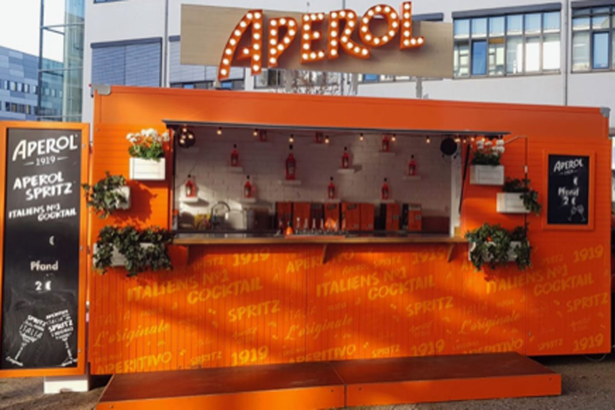 Aperol, Promotion Tour 2018