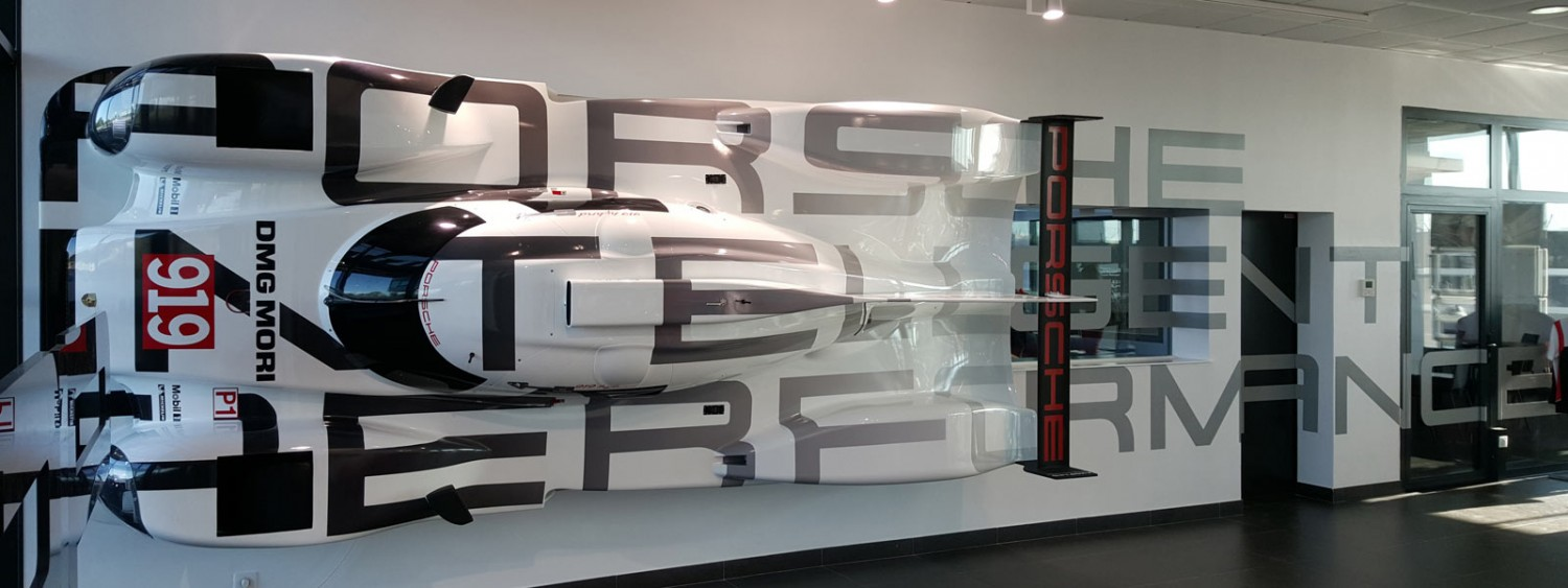 LMP1 Porsche Competence Center LeMans